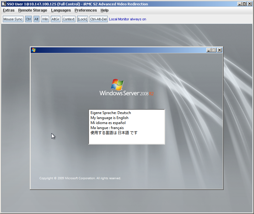 How to install Windows Server 2008 on an iSCSI target using 10Gig on