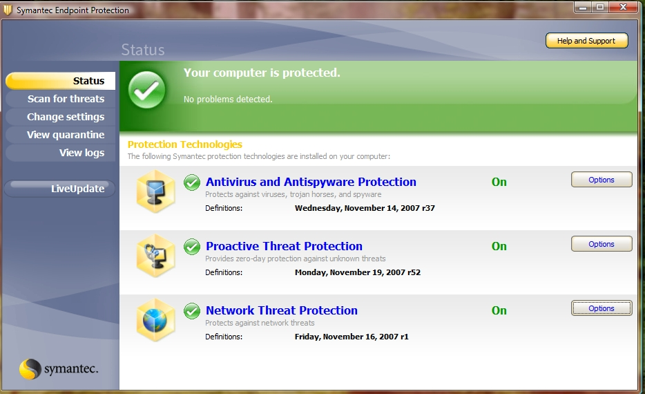 Symantec Antivirus Solution