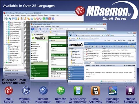 MDaemon Mail Server Solution